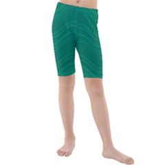 Abstraction Kids  Mid Length Swim Shorts