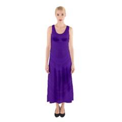 Abstraction Sleeveless Maxi Dress