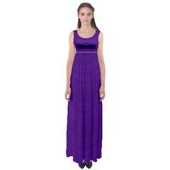 Abstraction Empire Waist Maxi Dress