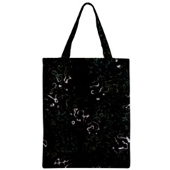 Abstraction Zipper Classic Tote Bag