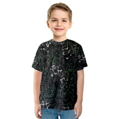 Abstraction Kids  Sport Mesh Tee