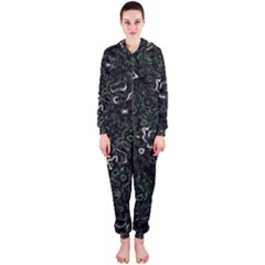 Abstraction Hooded Jumpsuit (Ladies)
