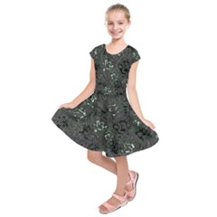 Abstraction Kids  Short Sleeve Dress