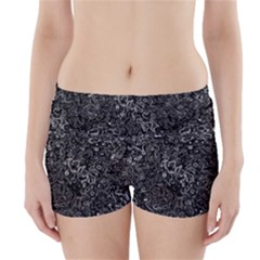 Abstraction Boyleg Bikini Wrap Bottoms