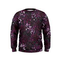 Abstraction Kids  Sweatshirt