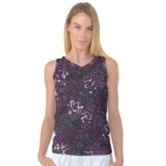 Abstraction Women s Basketball Tank Top