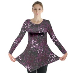 Abstraction Long Sleeve Tunic