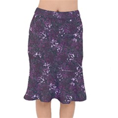 Abstraction Mermaid Skirt