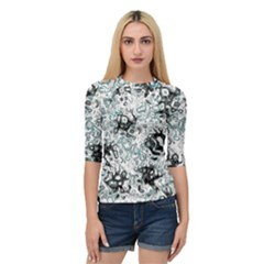 Abstraction Quarter Sleeve Tee