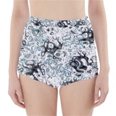 Abstraction High-Waisted Bikini Bottoms
