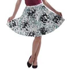 Abstraction A-line Skater Skirt