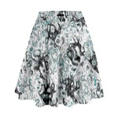 Abstraction High Waist Skirt