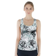 Abstraction Racer Back Sports Top