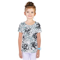 Abstraction Kids  One Piece Tee