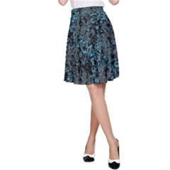 Abstraction A-Line Skirt