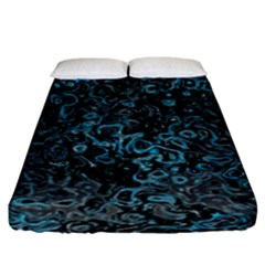 Abstraction Fitted Sheet (King Size)