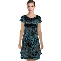 Abstraction Cap Sleeve Nightdress