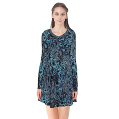 Abstraction Flare Dress