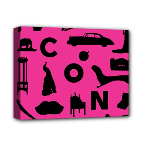 Car Plan Pinkcover Outside Deluxe Canvas 14  x 11
