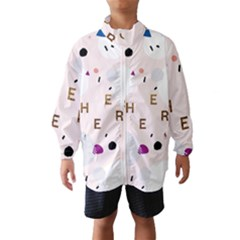 Cheers Polkadot Circle Color Rainbow Wind Breaker (Kids)