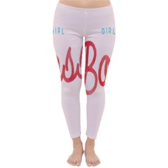 Girl Boss Pink Red Blue Sexy Classic Winter Leggings