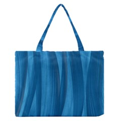 Abstraction Medium Zipper Tote Bag