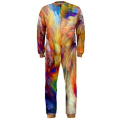 Rainbow Color Splash OnePiece Jumpsuit (Men)