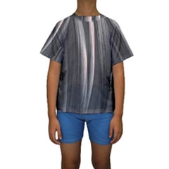Abstraction Kids  Short Sleeve Swimwear