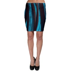 Abstraction Bodycon Skirt