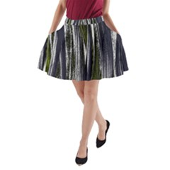 Abstraction A-Line Pocket Skirt