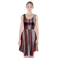 Abstraction Racerback Midi Dress