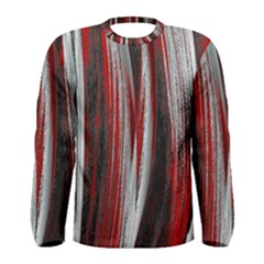 Abstraction Men s Long Sleeve Tee