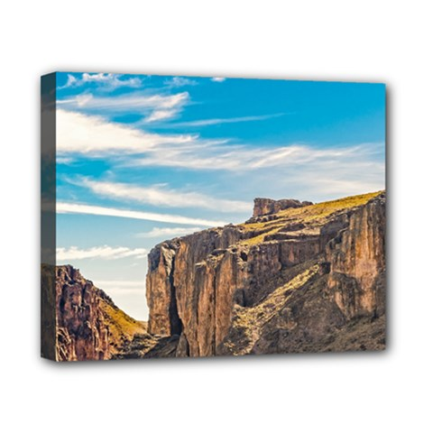 Rocky Mountains Patagonia Landscape   Santa Cruz   Argentina Canvas 10  x 8