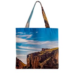 Rocky Mountains Patagonia Landscape   Santa Cruz   Argentina Zipper Grocery Tote Bag