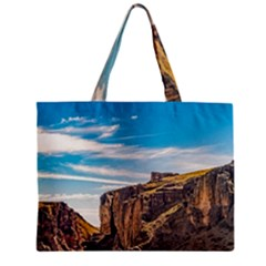 Rocky Mountains Patagonia Landscape   Santa Cruz   Argentina Zipper Mini Tote Bag