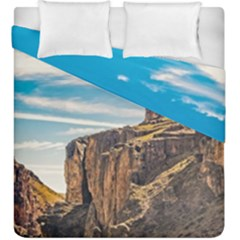 Rocky Mountains Patagonia Landscape   Santa Cruz   Argentina Duvet Cover Double Side (King Size)