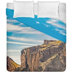 Rocky Mountains Patagonia Landscape   Santa Cruz   Argentina Duvet Cover Double Side (California King Size)