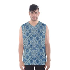 Modern Baroque Pattern Men s Basketball Tank Top