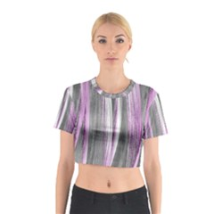 Abstraction Cotton Crop Top