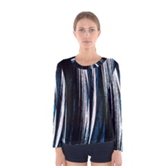 Abstraction Women s Long Sleeve Tee