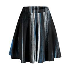 Abstraction High Waist Skirt