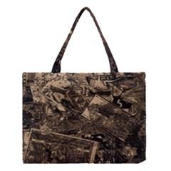 Vintage newspaper  Medium Tote Bag