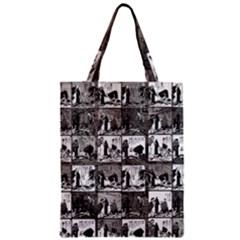 Comic book  Zipper Classic Tote Bag