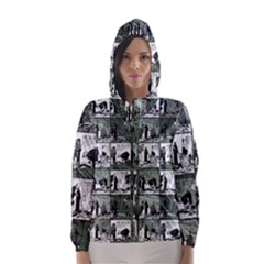 Comic book  Hooded Wind Breaker (Women)
