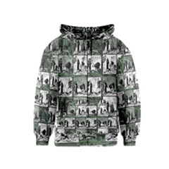 Comic book  Kids  Zipper Hoodie