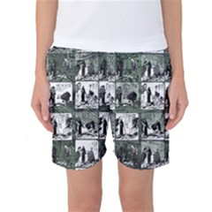 Comic book  Women s Basketball Shorts