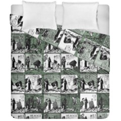 Comic book  Duvet Cover Double Side (California King Size)