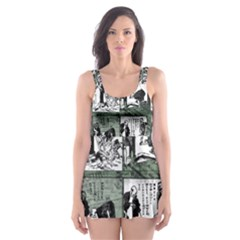 Comic book  Skater Dress Swimsuit