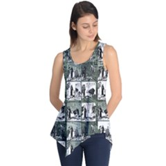 Comic book  Sleeveless Tunic