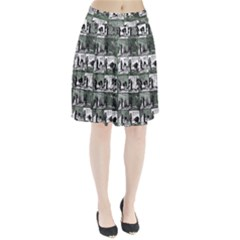 Comic book  Pleated Skirt